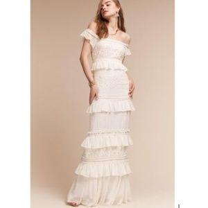 Boho Modern Nicole Miller Wedding Dress